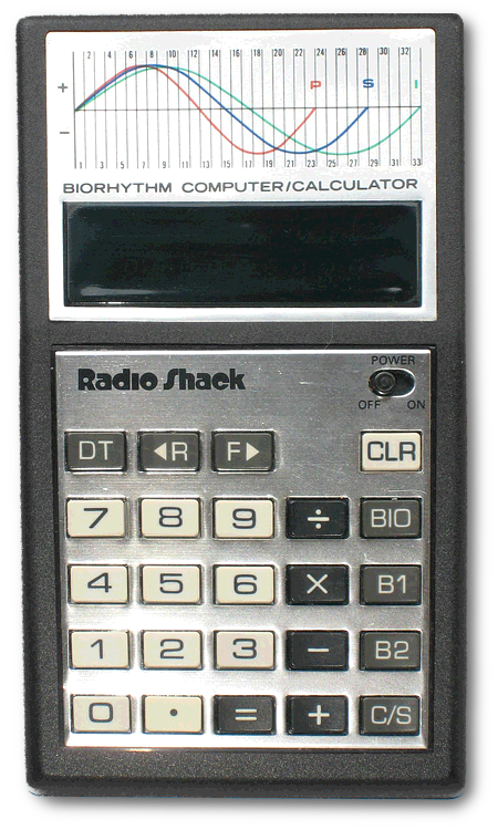 Radio Shack EC 314 Biorhytm Computer / Calculator aus dem Jahr 1979