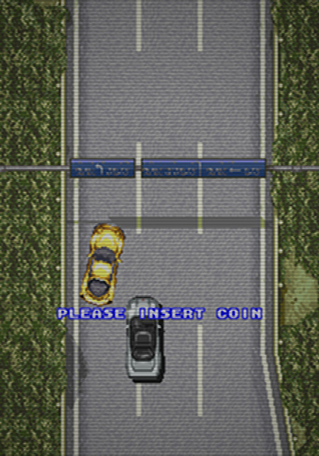 Screenshot Lethal Crash Race, Video System Company Ltd., 1993