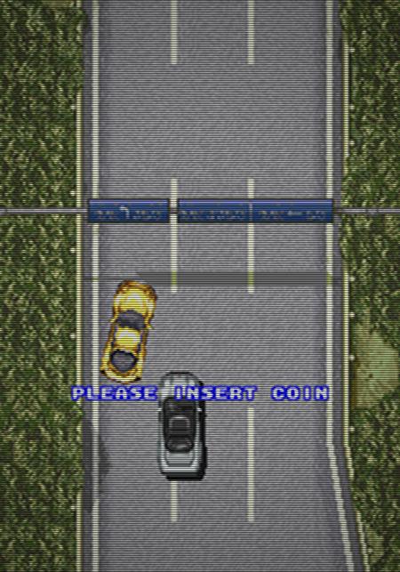 Screenshot Lethal Crash Race, Video System Company Ltd., 1993