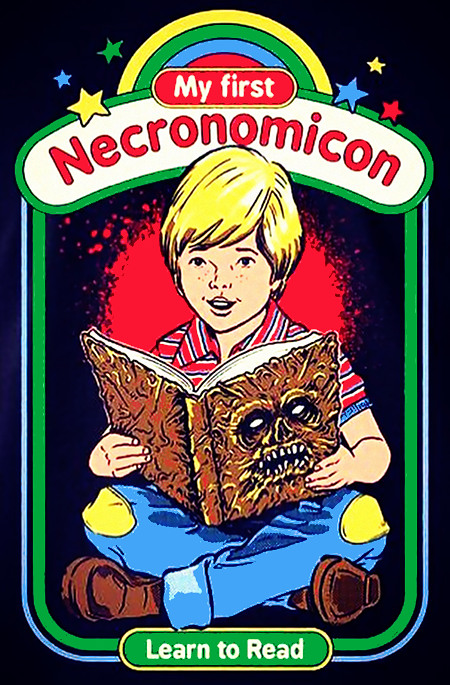 My first Necronomicon -- Learn to Read