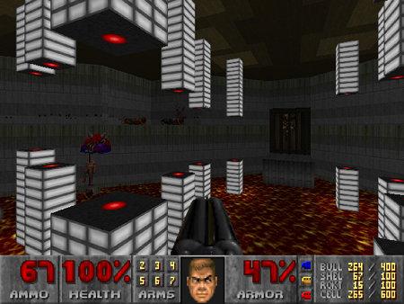 Screenshot DooM 2 Redux, Map 09