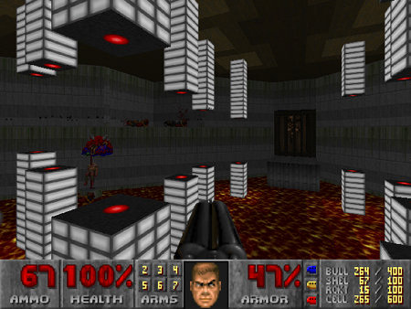 Screenshot DooM 2 Redux, Map 09