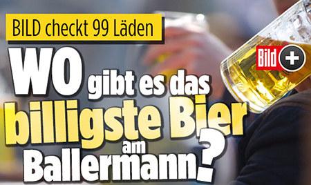 BILD checkt 99 Läden: Wo gibt es das billigste Bier am Ballermann?