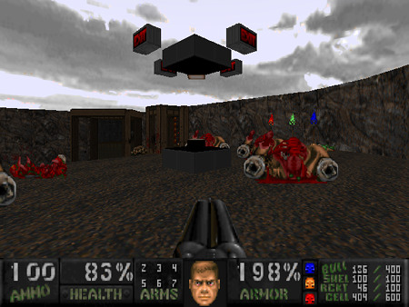 Screenshot des DooM2-MODs