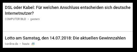 DSL oder Kabel: Für welchen Anschluss entscheiden sich deutsche Internet-Nutzer -- Lotto am Samstag den 14.07.2018: Die aktuellen Gewinnzahlen