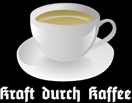Kraft durch Kaffee