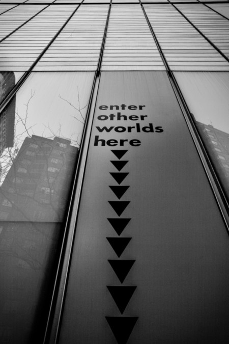 Enter other worlds here