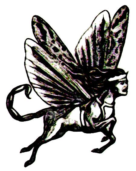 Obskure Illustration aus einem älteren Buch der Zeugen Jehovas, das die Offenbarung auslegen wollte. Die angegebenen Daten waren genau so wenig zutreffend wie dieser Einblick ins Tierreich.
