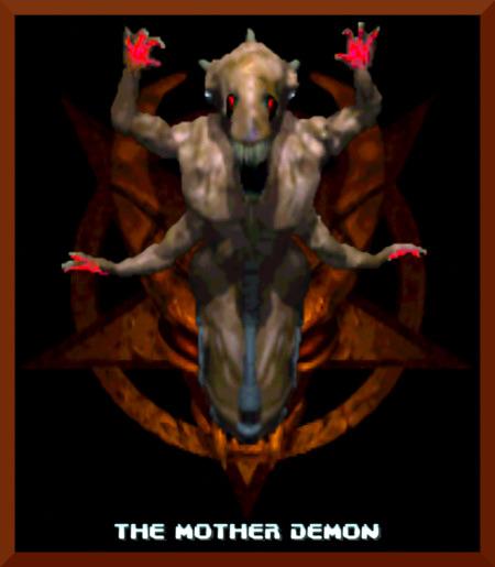 Screenshot aus DooM 64 Retribution -- Abschlussbildschirm -- Mother Demon