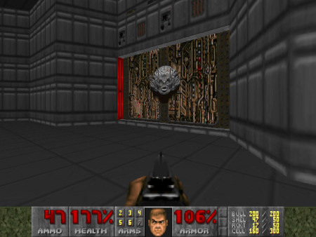 Screenshot aus dem DooM-WAD Deathless