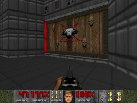 Screenshot aus dem DooM-WAD Deathless