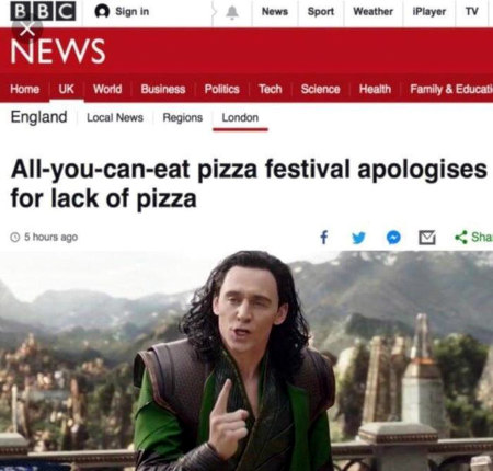 Nachricht BBC News: All-you-can-eat pizza festival apologises for lack of pizza
