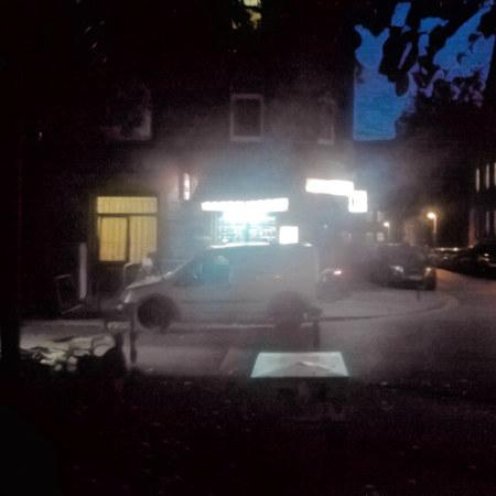 Ein in der Nacht geöffneter Kiosk in der Ottenstraße, Hannover-Linden