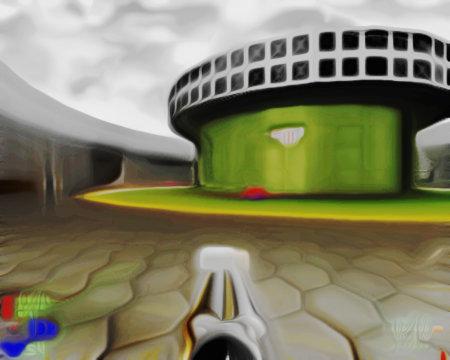 Screenshot, mit Gimp bearbeitet