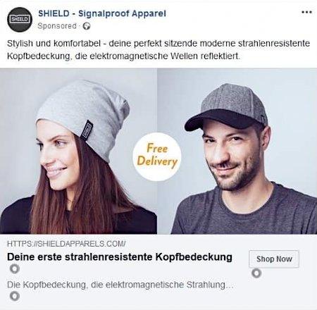 Sponsored Post -- SHIELD -- Signalproof Apparel -- Stylish und komfortabel - deine perfekt sitzende strahlenresistente Kopfbedeckung, die elektromagnetische Wellen reflektiert. -- Deine erste strahlenresistente Kopfbedeckung [Shop Now]