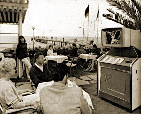 Foto einer Aufstellung dieses Gerätes im Jahr 1962