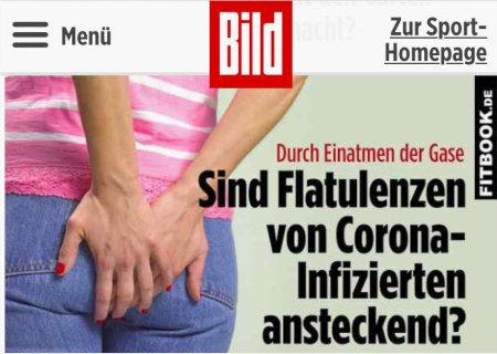 Durch Einatmen der Gase: Sind Flatulenzen von Corona-Infizierten ansteckend?