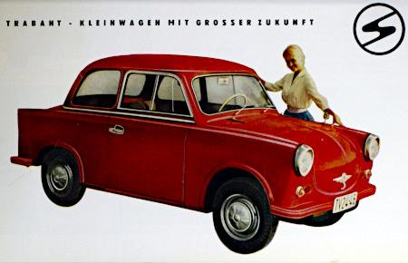 Trabant - Kleinwagen mit großer Zukunft