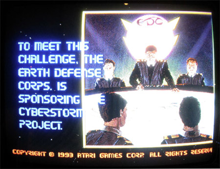 To meet this challenge, the Earth Defense Corps. is sponsoring the Cyberstorm project
