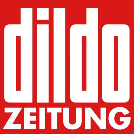 Dildo-Zeitung -- in der Ästhetik des Logos der Bildzeitung