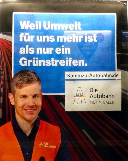 Weil Umwelt für uns mehr ist als nur ein Grünstreifen. KommzurAutobahn.de -- Die Autobahn -- Eine für alle.