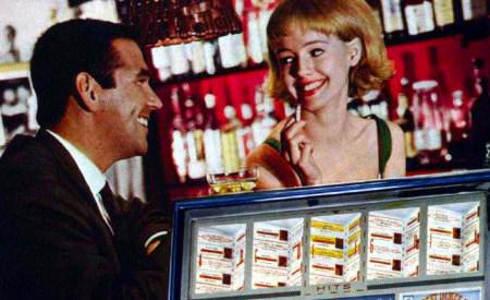 Detail aus einer an Aufsteller gerichteten Reklame für Musikboxen aus dem Jahr 1965