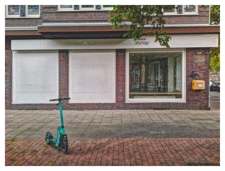 Zugeklebte und leerstehende Schaufenster insolventer Läden in der Südstadt Hannovers